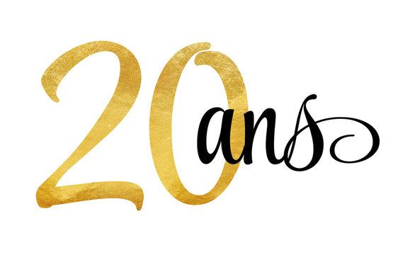 20 ans - signature