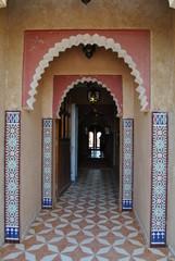 Puerta, entrada, construcción, casa, marroquí, Marruecos