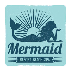 Mermaid logo design