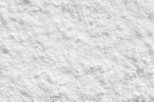White flour on the background