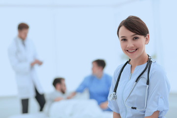 medical worker in medical Center