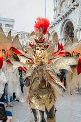 carnival costume in Venice, Italy