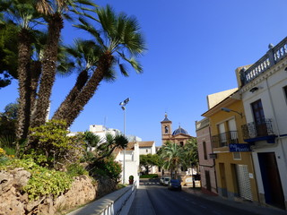 Benicassim, pueblo de Castellon en la Comunidad Valenciana,España