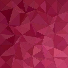 Maroon irregular triangle mosaic vector background design