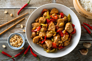 Wall Murals Ready meals Kung Pao Chicken