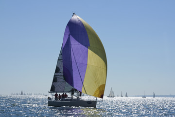 cowes week round the island yacht race