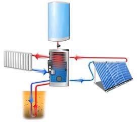 Sustainable development - Renewable energy 3d