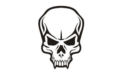 Tribal Skull logo design inspiration