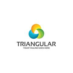 triangular technology logo company
