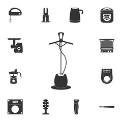 Electric Steamer icon. Detailed set of household items icons. Premium quality graphic design. One of the collection icons for websites, web design, mobile app