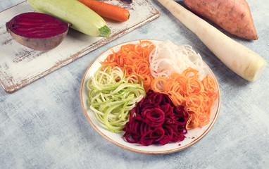 Wall Mural - Vegetable noodles