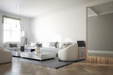 Raumadaptation: Wohnzimmer (Vision)