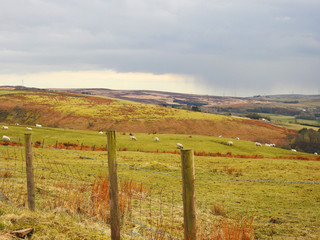 Belthorn is a small moorland village situated to the south-east of Blackburn in Lancashire, England. Horse-racing track.