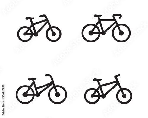 bike logo icon design template fotolia com の ストック画像と