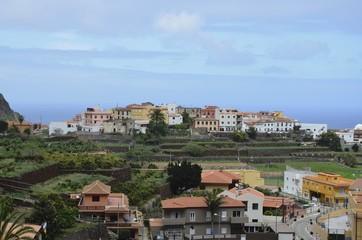 Stadtansicht von Agulo, Gomera