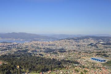 Vigo views city