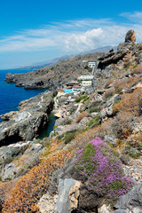 Côte sauvage au sud de la Crète