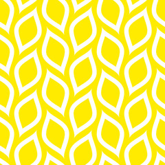 Abstract Retro Seamless Pattern Lemons Diagonal Big