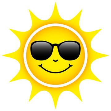 Yellow Sun Sunglasses
