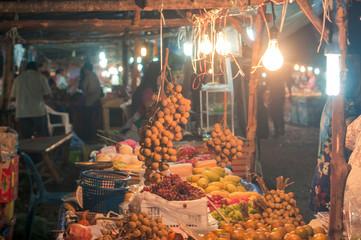 Fruit market in Thailand