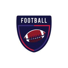 American Football Logo Sport