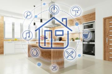 Smart Home Küche mit Interface