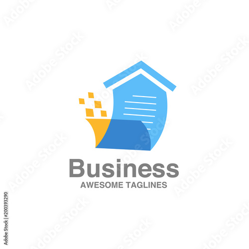 Creative Home List For Sale Logo Vector Home Sales Logo Vector