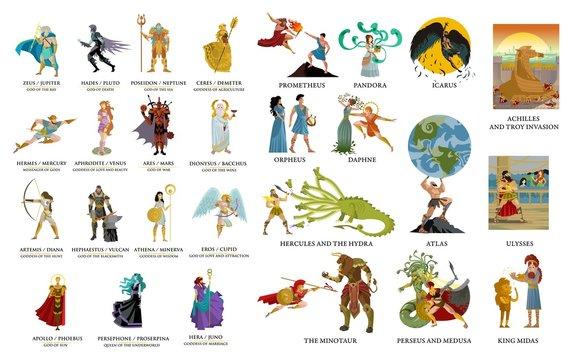 greek gods and mythology collection