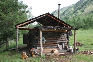 Base camp on the way to the lake Kucherla