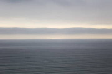 Calm ocean horizon