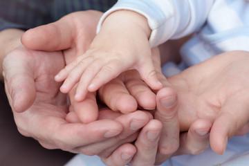 Hands woven