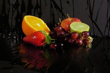 Fruchtsalat im Dunkeln