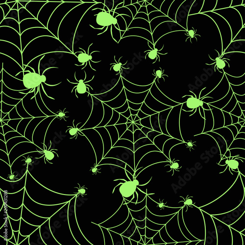 abstract seamless halloween pattern for girls or boys creative