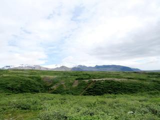 Iceland the view of Hvannadalshnukur 2017