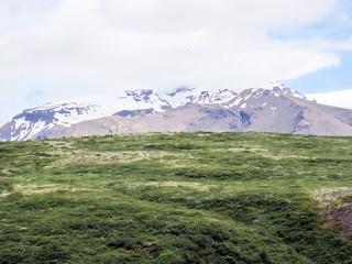 Iceland view of Hvannadalshnukur mountain 2017