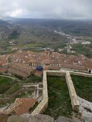 Morella, pueblo historico de Castellon (Comunidad Valenciana,España) en la comarca de Los Puertos de Morella