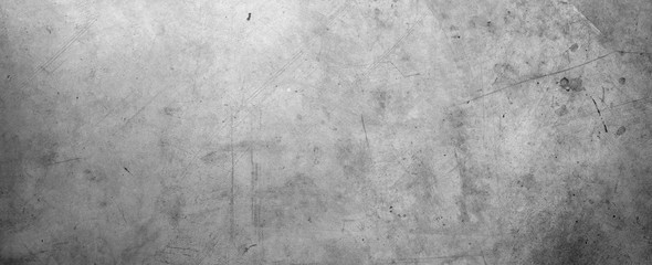 Photo sur Plexiglas Beton Grey concrete wall
