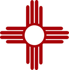 American Indian Sun Symbol