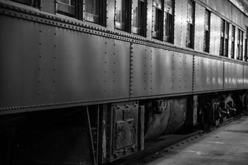 Antique rail car