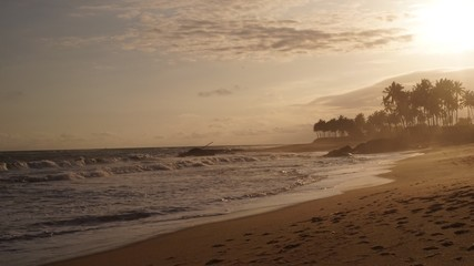 Ghana Beach shore line
