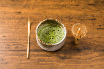 抹茶 green tea made in Japan