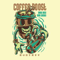 Coffee Boost Illustration