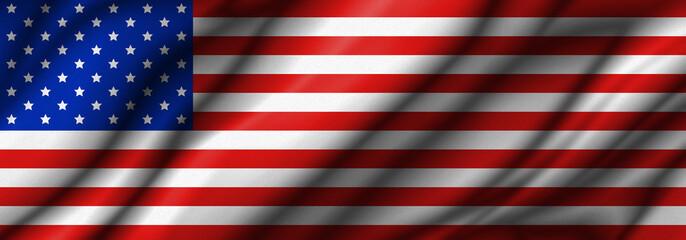 USA or america flag background