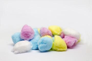 Algodon de colores