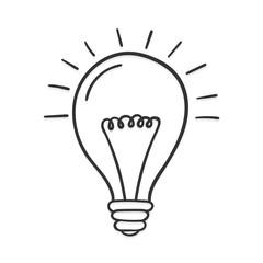 Hand Drawn Lightbulb