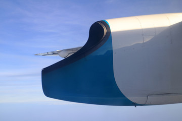 Exhaust Nozzle of Propeller Plane Engine