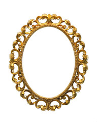Ornate antique frame