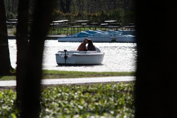 Romantische Bootsfahrt im Schlosspark Laxenburg