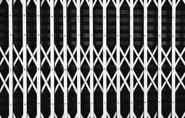 Iron fence and iron gate black looks stunning.And there is a pattern in the same way, and the look and feel of a strange, new, and used as a background.