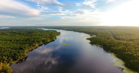 Big Creek Lake in Semmes, Alabama